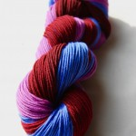 Mulberry - Sky Blue - Cranberry Bogged