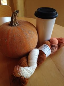 Pumpkin Spice Latte, anyone? Make mine a double-tall - in a reusable mug, of course.