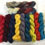 SPIKE: Black Onyx, Scarlette, True Blood Red, In the Navy, Saffron Surprise, Bleck, Rambalamba, Primordial Ooze, Vine Ripened Red, Aquarius, Snowflake & Lodestone