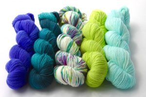 Tardis Blue, Grimm Green, Plumpy Sun Angel, Magically Delicious & Seafoam Home