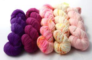 H.R.H. Princess Violetta, Mulberry, Wall Flower, Sunspots & Rosebud