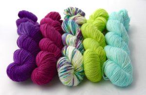 H.R.H. Princess Violetta, Mulberry, Plumpy Sun Angel, Magically Delicious & Seafoam Home