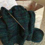 Knitting Ysolda's Stockbridge